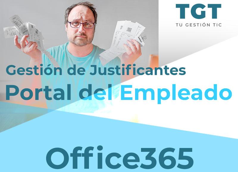 Gestión de Justificantes Office365 Portal del Empleado