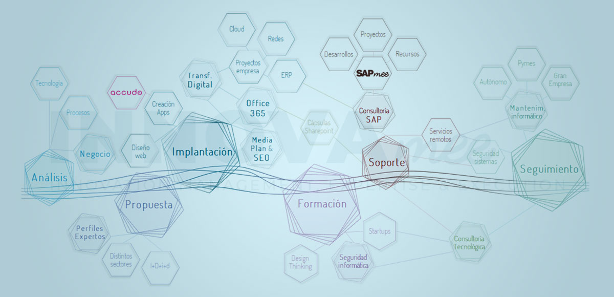 Servicios Transformación Digital de Innovamee