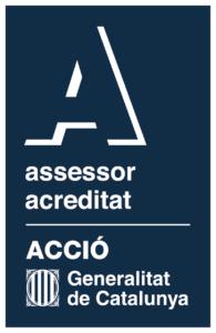 Sello de asesor acreditado en ACCIÓ para proyectos de tecnología e industria 4.0