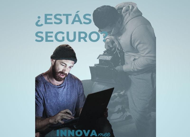 Portada del post de INNOVAmee sobre Ciberseguridad y mejorar la seguridad informática en la empresa